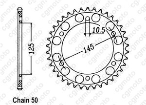 Couronne Fzx 750 86-90