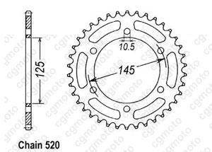 Couronne Xt 660 X/R 04-