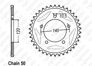 Couronne Sv 1000 N / S 03-