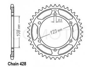 Couronne RS4 125