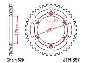 Couronne Acier TT Esjot Ultralight