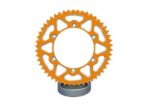 Couronne Alu TT Esjot Orange