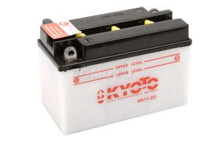 batterie 6N11-2D L 150mm W 70mm H 100mm