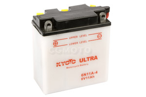 batterie 6N11A-4 L 122mm W 62mm H 132mm