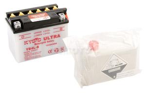 batterie YB4L-B L 121mm W 71mm H 93mm