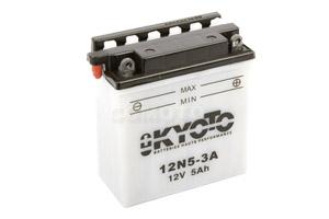 batterie 12N5-3A L 121mm W 61mm H 131mm