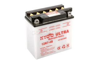 batterie 12N7-4B L 137mm W 76mm H 134mm