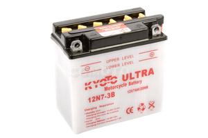 batterie 12N7-3B L 137mm W 76mm H 134mm