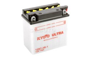 batterie 12N7-3B-1 L 137mm W 76mm H 134mm