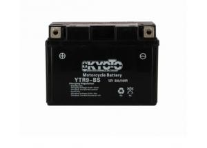 batterie YTR9-BS L 150mm W 87mm H 105mm