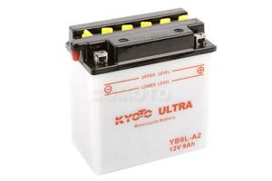 batterie YB9L-A2 L 137mm W 76mm H 140mm