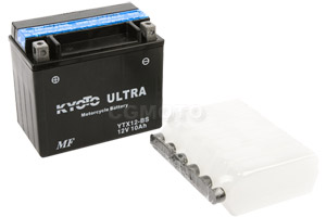batterie YTX12-BS L 150mm W 87mm H 131mm