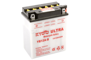 batterie YB12A-B L 135mm W 81mm H 161mm