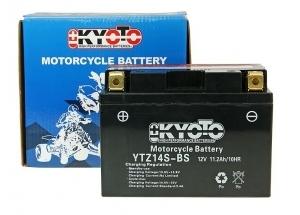 batterie YTZ14S-BS L 150mm W 87mm H 110mm