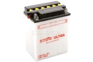 batterie YB14L-A1 L 135mm W 91mm H 167mm