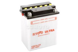 batterie 12N14-3A L 135mm W 90mm H 167mm
