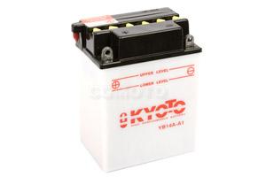 batterie YB14A-A1 L 135mm W 91mm H 176mm