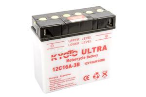 batterie 12C16A-3B L 182mm W 87mm H 167mm