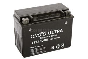 batterie YTX15L-BS L 175mm W 87mm H 130mm