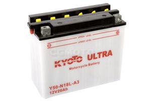 batterie Y50-N18L-A3 L 206mm W 91mm H 164mm