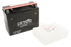 batterie YTX18L-BS L 205mm W 89mm H 163mm