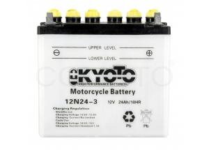 batterie 12N24-3 L184 mm W125 mm H175 mm