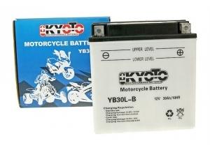 batterie YB30l-b L 168mm W 132mm H 176mm