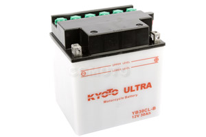 batterie YB30CL-B L 167mm W 131mm H 192mm