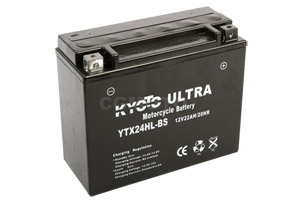 batterie YTX24HL-BS L 205mm W 87mm H 162mm