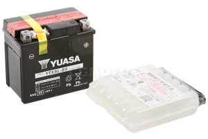 batterie YTX5L-BS L 114mm W 71mm H 106mm