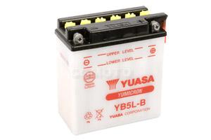 batterie YB5L-B L 121mm W 61mm H 131mm
