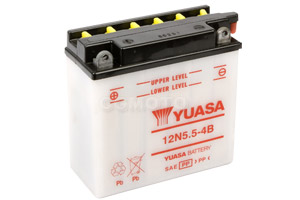 batterie 12N5.5-4B L 138mm W 61mm H 131mm