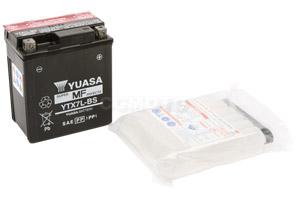 batterie YTX7L-BS L 114mm W 71mm H 131mm