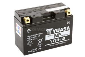 batterie YT9B-BS L 150mm W 70mm H 105mm