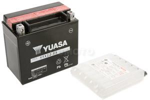 batterie YTX12-BS L 150mm W 87mm H 131mm
