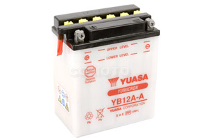 batterie YB12A-A L 135mm W 81mm H 161mm