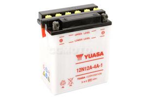 batterie 12N12A-4A-1 L 135mm W 81mm H 161mm