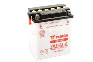 batterie YB12AL-A L 134mm W 80mm H 160mm