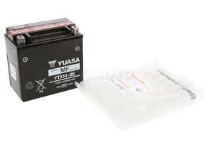 batterie YTX14-BS L 150mm W 87mm H 147mm