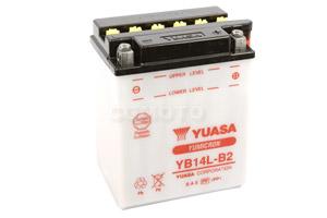 batterie YB14L-B2 L 135mm W 91mm H 167mm