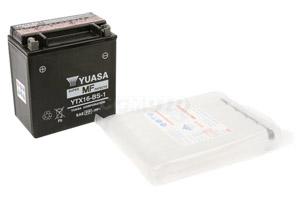 batterie YTX16-BS-1 L 150mm W 88mm H 161mm