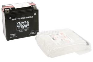 batterie YTX20H-BS L 175mm W 87mm H 155mm