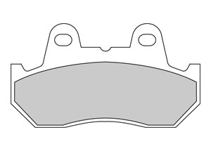 Plaquette de frein Métal Fritté Sinter Grip Road